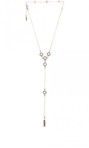 Ожерелье Ettika. Цвет: металлический серебряный
