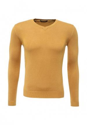 Пуловер Y.Two. Цвет: желтый