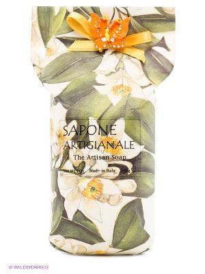 Натуральное косметическое мыло ароматом жасмина Iteritalia. Цвет: белый