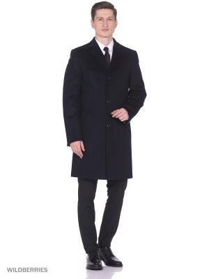 Пальто Berkytt. Цвет: антрацитовый, темно-синий