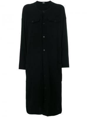 Свободное платье-рубашка Zucca. Цвет: чёрный