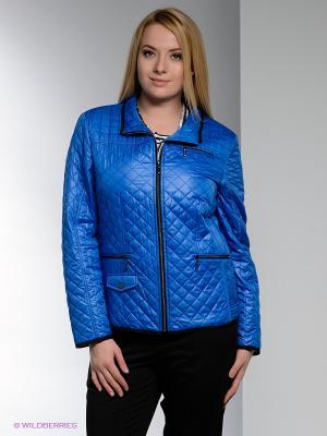 Куртка WEGA. Цвет: синий