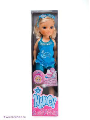 Кукла Нэнси Famosa. Цвет: голубой, бежевый
