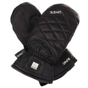 Варежки сноубордические женские  Galaxy Mitt Black Dakine. Цвет: черный