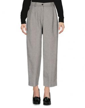 Повседневные брюки NORA BARTH. Цвет: серый