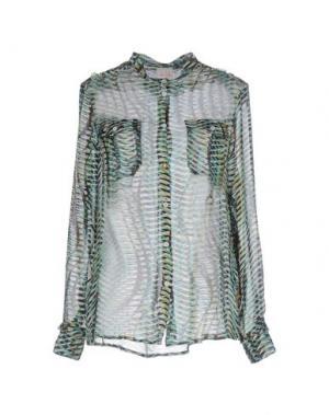 Pубашка NOLITA. Цвет: светло-зеленый