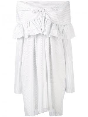 Платье Sailor Isa Arfen. Цвет: белый