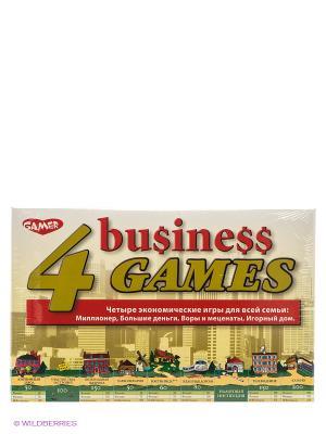 Детская настольная игра 4 экономические игры DREAM MAKERS. Цвет: зеленый