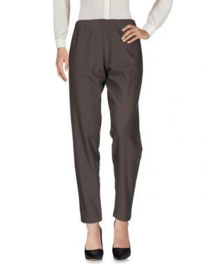 Повседневные брюки MYTHS. Цвет: серый