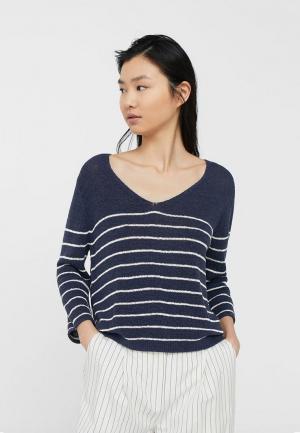 Пуловер Mango. Цвет: синий