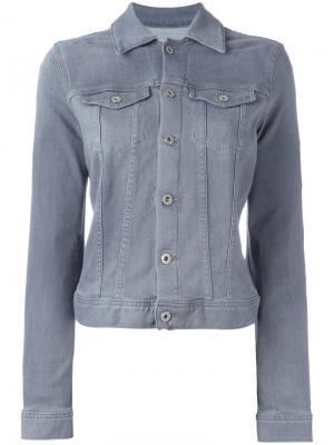 Джинсовая куртка Ag Jeans. Цвет: серый