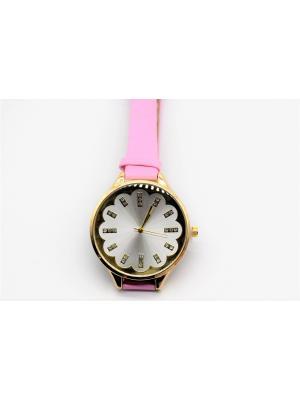 Часы наручные Favorit azur. Цвет: розовый