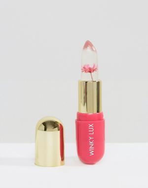 Winky Lux Бальзам, проявляющий цвет в зависимости от уровня pH кожи губ, с розов. Цвет: очистить