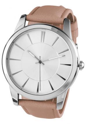Наручные часы Heine. Цвет: песочный, розовый