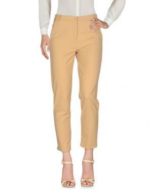 Повседневные брюки NO SECRETS. Цвет: песочный