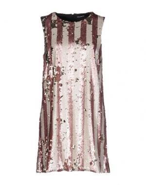 Короткое платье NINEMINUTES. Цвет: розовый