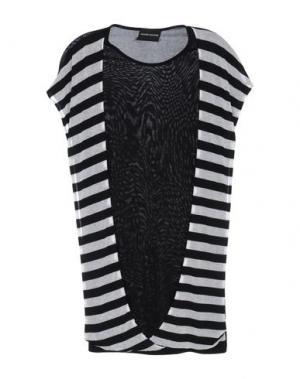 Короткое платье MAURO GASPERI. Цвет: черный