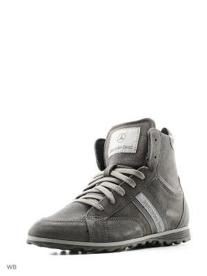 Кроссовки MERCEDES-BENZ. Цвет: серый