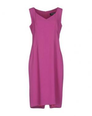 Платье до колена MARTA PALMIERI. Цвет: светло-фиолетовый