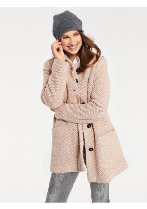 Пальто B.C. BEST CONNECTIONS by Heine. Цвет: розовый