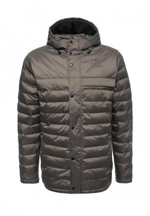 Куртка утепленная Reebok Classics. Цвет: серый