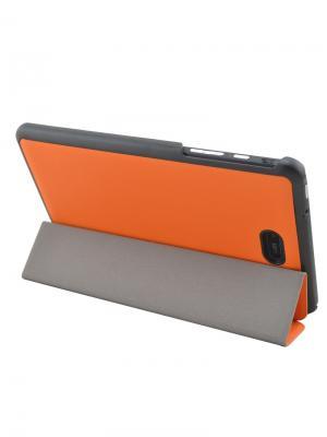Чехол skinBOX slim caseclips для Dell Venue 8 pro. Цвет: коричневый
