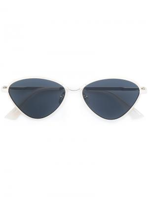 Bazaar sunglasses Le Specs. Цвет: металлический