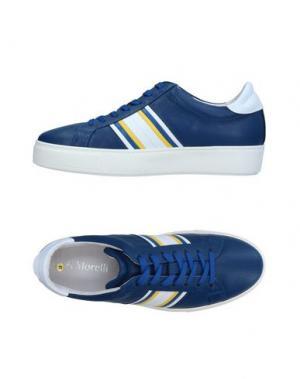 Низкие кеды и кроссовки ANDREA MORELLI. Цвет: синий