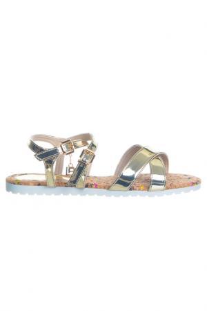 Sandals Laura Biagiotti. Цвет: gold