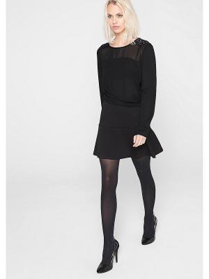 Блузка S.OLIVER. Цвет: черный