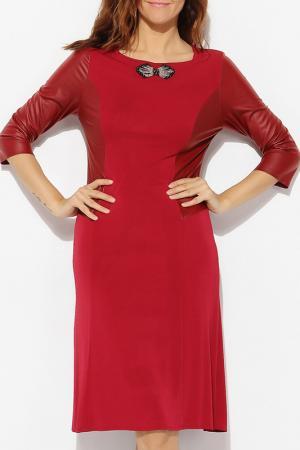 Платье Milanesse. Цвет: красный