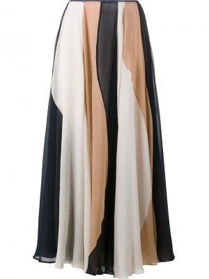 Плиссированная юбка Roksanda. Цвет: многоцветный