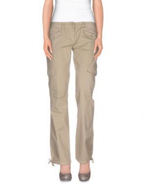 Повседневные брюки TIMBERLAND. Цвет: бежевый