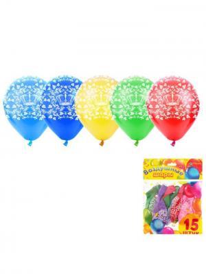 Набор воздушных шаров А М Дизайн. Цвет: светло-желтый, красный