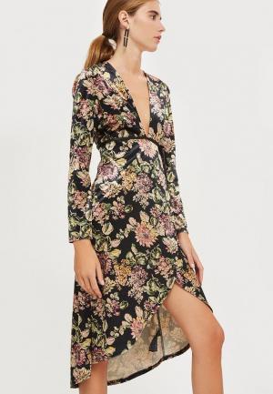 Платье Topshop. Цвет: разноцветный