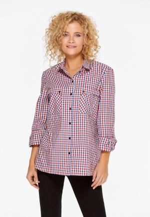 Рубашка SoloU. Цвет: красный