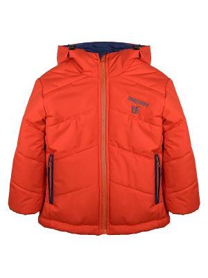 Куртка Bell bimbo. Цвет: оранжевый