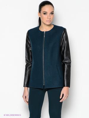 Куртка PALLARI. Цвет: темно-синий, черный