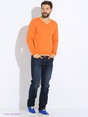 Пуловер G.O.P.. Цвет: оранжевый