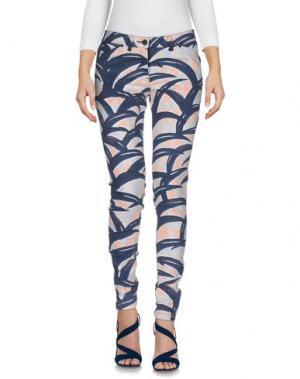 Джинсовые брюки KENZO. Цвет: грифельно-синий