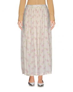 Длинная юбка LOCAL APPAREL. Цвет: слоновая кость