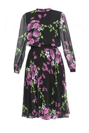 Платье из вискозы с хлопком 165236 Cavo. Цвет: разноцветный