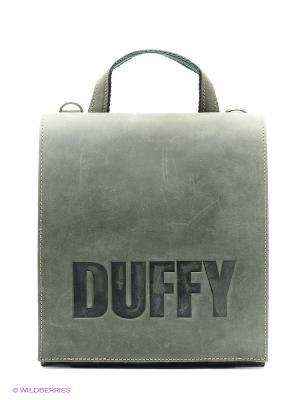 Сумка Duffy. Цвет: оливковый