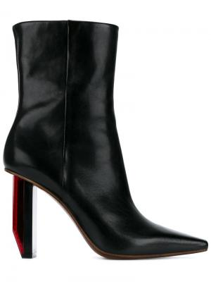 Reflector-Heel boots Vetements. Цвет: чёрный
