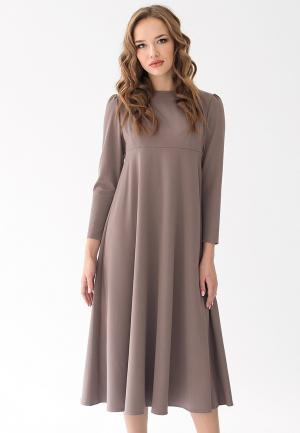 Платье Cauris. Цвет: бежевый