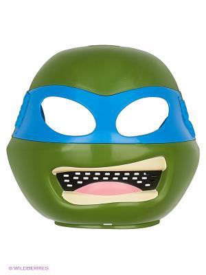 Маска Черепашки-ниндзя Леонардо Playmates toys. Цвет: зеленый, синий