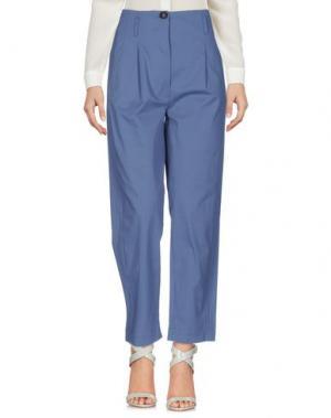 Повседневные брюки TELA. Цвет: пастельно-синий