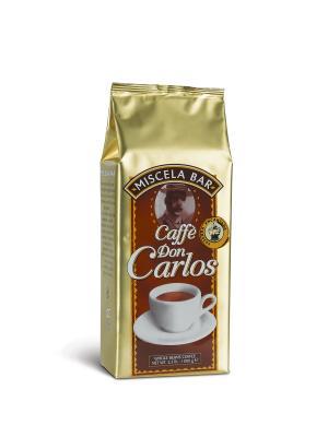 Don Carlos 1 кг  вак (зерн) кофе в зернах CARRARO. Цвет: коричневый