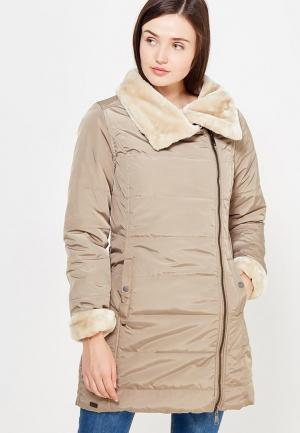 Куртка утепленная Regatta. Цвет: бежевый