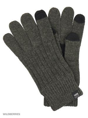 Перчатки VANS. Цвет: серый